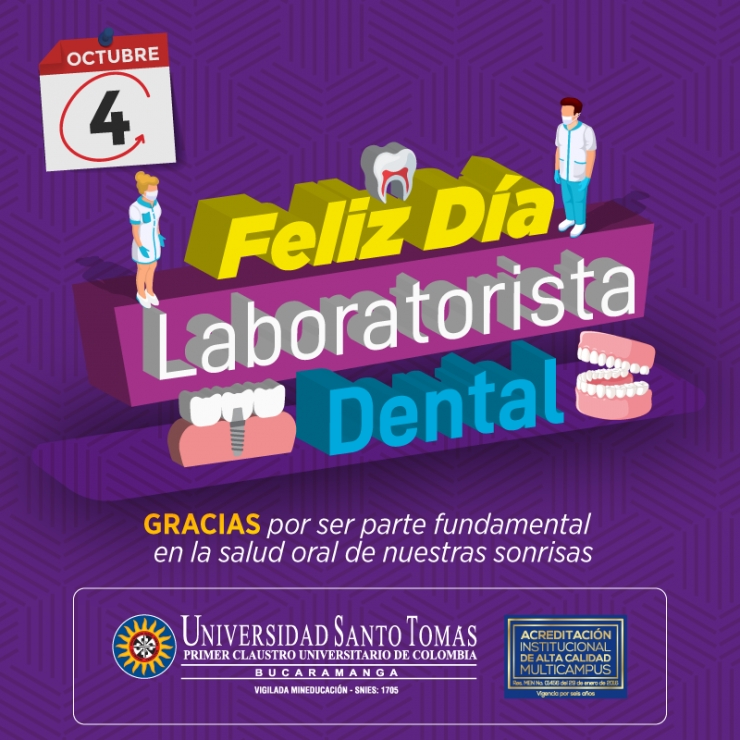 Feliz Día del Laboratorista Dental