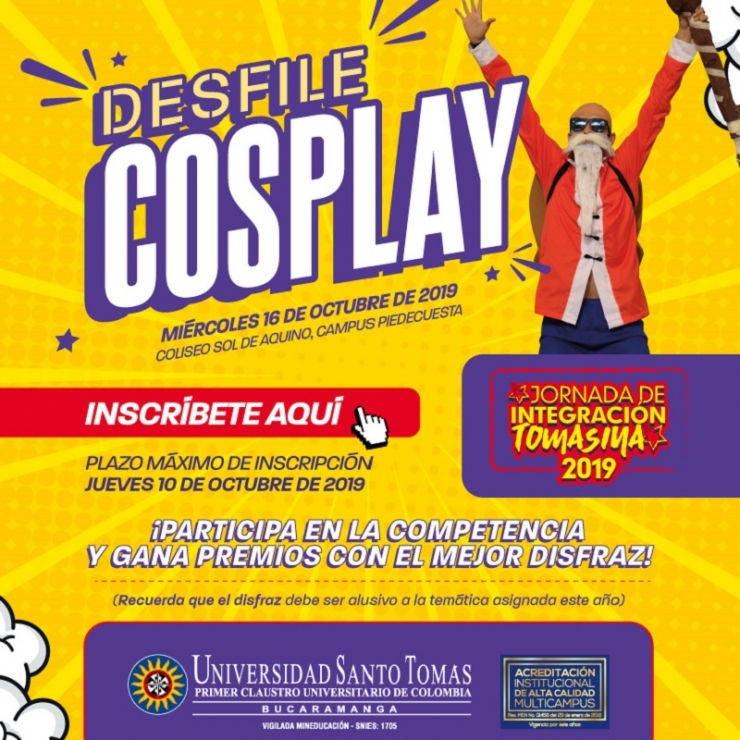 Desfile COSPLAY