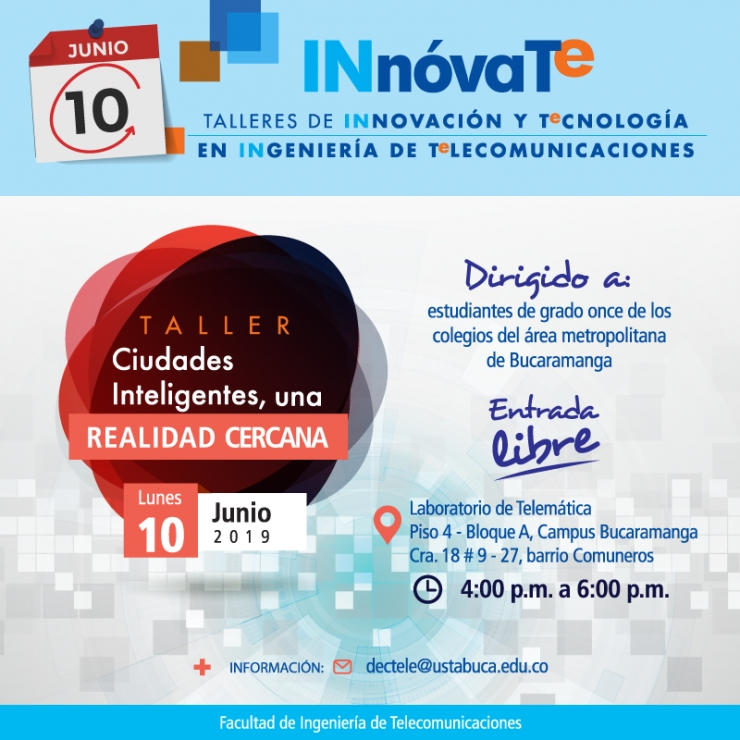 Talleres Innóvate 10 Junio