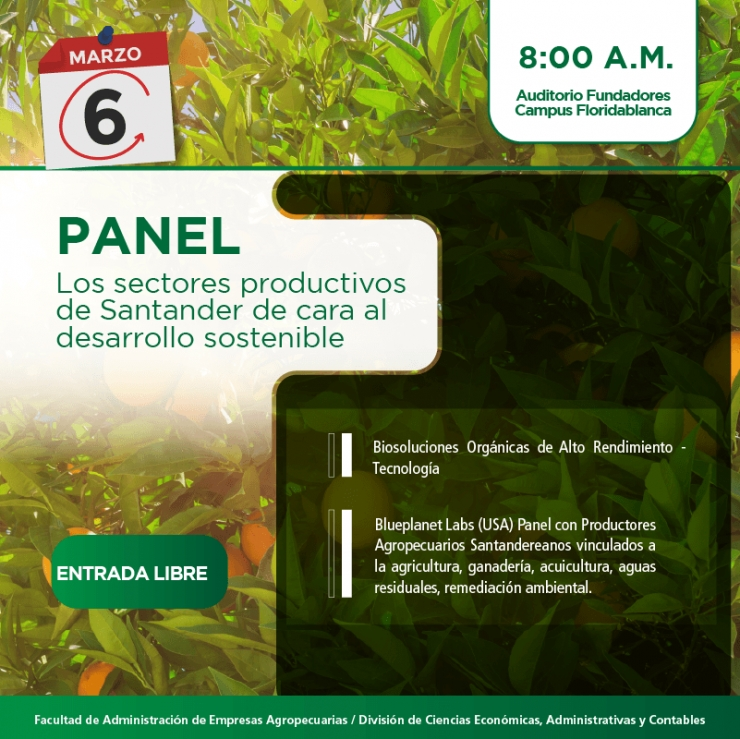 Panel Sectores Productivos