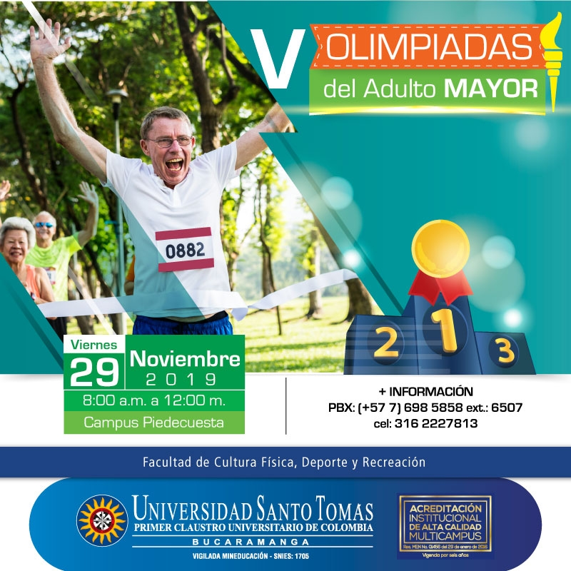 V Olimpiadas del Adulto Mayor
