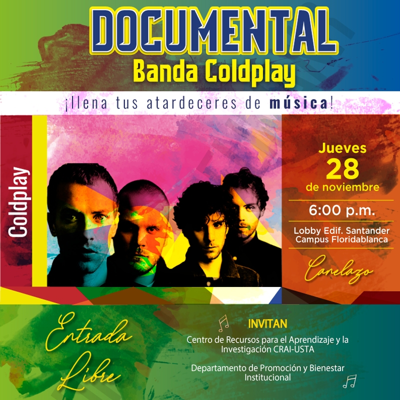 Video  Concierto USTA: Documental Banda Coldplay